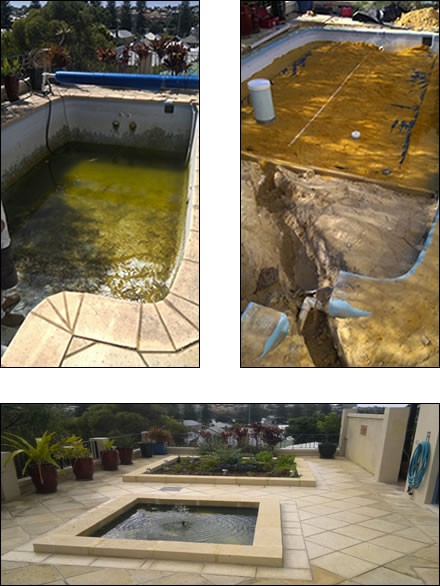 Convert your swimming pool into a rainwater tank for Swimming pool conversion
