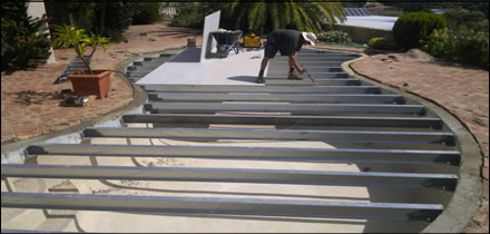Convert Swimming Pool To Patio Beat The Heat Converting A Water Tank To A Plunge Pool You Can