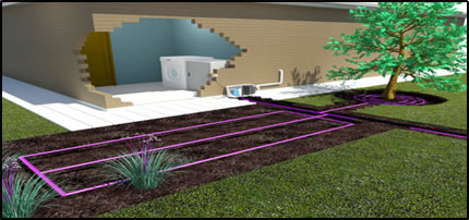 Greywater Irrigation Systems for small gardens in homes with low occupancy